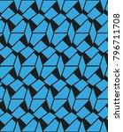 irregular angular structure... | Shutterstock .eps vector #796711708