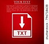 txt file document icon....