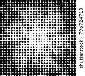 abstract grunge grid polka dot... | Shutterstock .eps vector #796724713