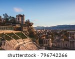 ancient city of plovdiv... | Shutterstock . vector #796742266