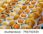 various typical brazilian small ... | Shutterstock . vector #796742434