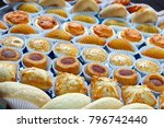 various typical brazilian small ... | Shutterstock . vector #796742440
