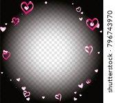 round frame or border... | Shutterstock .eps vector #796743970