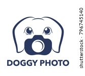 logo for pet photography company | Shutterstock .eps vector #796745140