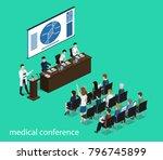 isometric 3d illustration...   Shutterstock . vector #796745899