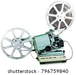 a movie projector is an opto... | Shutterstock . vector #796759840
