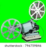 a movie projector is an opto... | Shutterstock . vector #796759846
