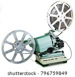 a movie projector is an opto... | Shutterstock . vector #796759849