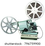 a movie projector is an opto... | Shutterstock . vector #796759900