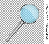 magnifying glass with... | Shutterstock .eps vector #796762960