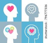 emotional intelligence  feeling ... | Shutterstock .eps vector #796777336