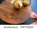 christmas holiday ornaments | Shutterstock . vector #796778260