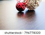 christmas holiday ornaments | Shutterstock . vector #796778320