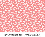 floral pattern. wallpaper... | Shutterstock .eps vector #796793164