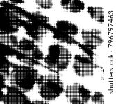 grunge halftone black and white ... | Shutterstock . vector #796797463