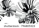 pinstripe sea shell. curl...   Shutterstock .eps vector #796805323