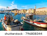 imperia  italy   january 10 ... | Shutterstock . vector #796808344