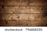 rustic wood planks background ... | Shutterstock . vector #796808350
