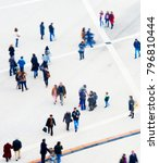 crowd of people at a public... | Shutterstock . vector #796810444
