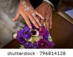 presentation oh the alliances... | Shutterstock . vector #796814128