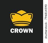 crown royal king vector logo... | Shutterstock .eps vector #796814590