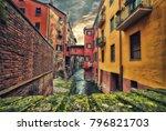 view on hidden water channel in ... | Shutterstock . vector #796821703