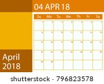 design calendar scheduler for... | Shutterstock . vector #796823578