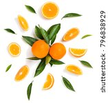 composition of orange fruits... | Shutterstock . vector #796838929