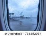 travel to catch the rainy day  ... | Shutterstock . vector #796852084