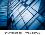 office building window close up  | Shutterstock . vector #796858939