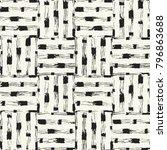 abstract monochrome mottled... | Shutterstock .eps vector #796863688