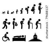 human life baby toddler kid... | Shutterstock .eps vector #79688137