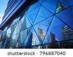 china shanghai  urban business ... | Shutterstock . vector #796887040