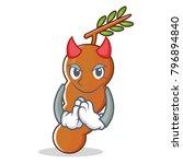 devil tamarind mascot cartoon... | Shutterstock .eps vector #796894840