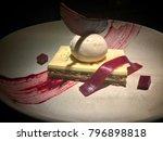 dessert  ice cream  chocolate ... | Shutterstock . vector #796898818