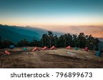 this is the view from nag tibba ... | Shutterstock . vector #796899673