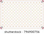 colorful horizontal pattern for ... | Shutterstock . vector #796900756