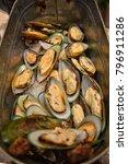 mussel  seafood buffet  buffet... | Shutterstock . vector #796911286