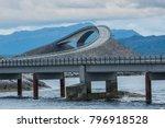 scenic atlantic ocean road ... | Shutterstock . vector #796918528