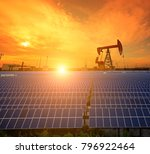 clean power energy concept oil... | Shutterstock . vector #796922464