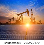 clean power energy concept oil... | Shutterstock . vector #796922470