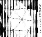 abstract grunge grid polka dot... | Shutterstock . vector #796924543