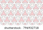 colorful seamless mosaic... | Shutterstock . vector #796932718