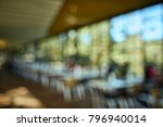 blurred background of open air... | Shutterstock . vector #796940014