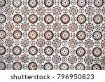 typical decorative tiles ... | Shutterstock . vector #796950823