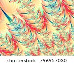 abstract texture branches... | Shutterstock . vector #796957030