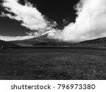 cotopaxi volcano  ecuador. the...   Shutterstock . vector #796973380