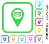 address of gps map location... | Shutterstock .eps vector #796976638
