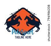 polo sport   polo club logo... | Shutterstock .eps vector #796986208