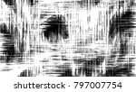 black and white pattern for... | Shutterstock . vector #797007754